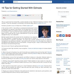 10 Tips for Getting Started With Edmodo