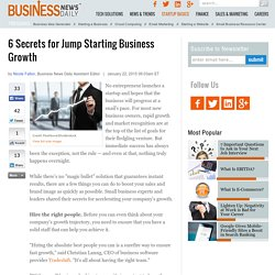 6 Tips to Grow Your Business Quickly