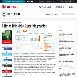 5 Tips to Help Make Super Infographics