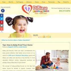 Tips: How to Baby-Proof Your Home