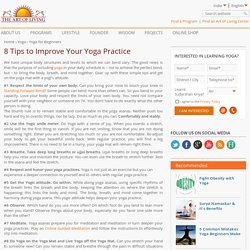 Tips to Improve Yoga Practice
