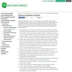 Improve English with eAge Spoken English Programme