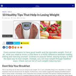 10 TIPS THAT HELP IN LOSING WEIGHT DailyPunch