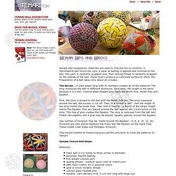 Tips on Making Temari Balls