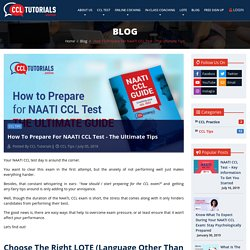 Tips To Prepare For NAATI CCL Test