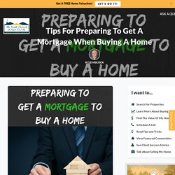 Mortgage Shopping Tips To Use Prior To Buying A Home