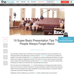 10 Tips to Make Your Presentation Go Perfectly