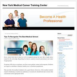 Professional medical Assistant training program in NYC
