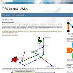 TIPS de ruta: AULA: Rutas y Probabilidades