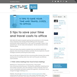 5 TIPS TO SAVE MONEY AND TIME IN YOUR BUSINESS
