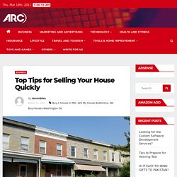 Top Tips for Selling Your House Quickly -
