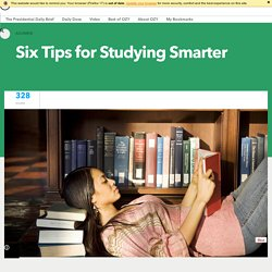 Six Tips for Studying Smarter