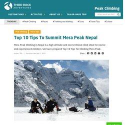 Top 10 Tips for successful Mera Peak Climbing