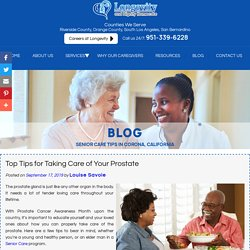 Top Tips for Taking Care of Your Prostate