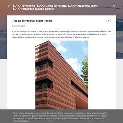 Tips on Terracotta Facade Panels