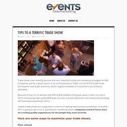 Tips to a Terrific Trade Show