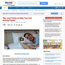 Tips and Tricks to Help You Fall Asleep Faster