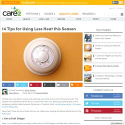 14 Tips for Using Less Heat this Season