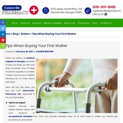 Tips When Buying Your First Walker
