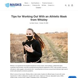 Tips for Working Out With an Athletic Mask from Whizley