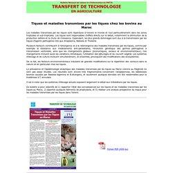 BTT 151: Tiques et maladies transmises par les tiques au Maroc