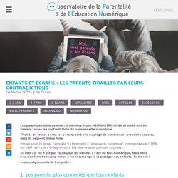 Enfants et écrans : les parents tiraillés par leurs contradictions