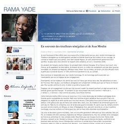 Rama Yade » Blog Archive » En souvenir des tirailleurs sénégalais et de Jean Moulin