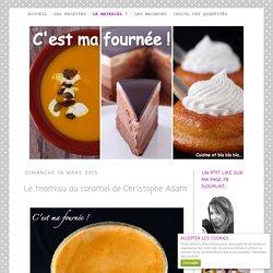 Le tiramisu au caramel de Christophe Adam