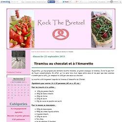 Tiramisu au chocolat et à l'Amaretto