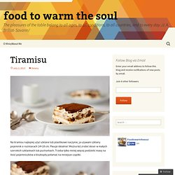 food to warm the soul