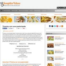 Tiramisu con uova pastorizzate ricetta semplice e veloce