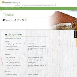 Tiramisu, recette - Vegan Pratique