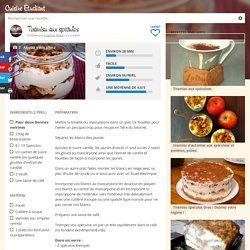 Recette Tiramisu aux speculos économique et simple > Cuisine Étudiant