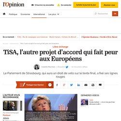 TiSA, l'autre projet d'accord qui fait peur aux Européens