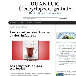 Tisane et infusion (Liste des préparations)