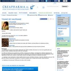 Tisane de valériane
