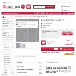Sol PVC tissé - Bolon BKB Sisal Plain Steel - BRICOFLOR
