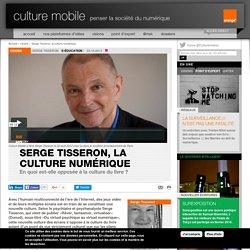 Serge Tisseron, la culture numérique - visions