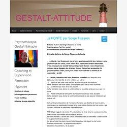 La HONTE par Serge Tisseron - gestalt-attitude