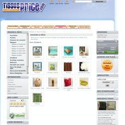 Tissus price, maison et décoration, décorations pas cher, décoration maison