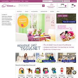 vente de tissus au mètre en ligne en votre boutique en ligne pour tissus au mètre