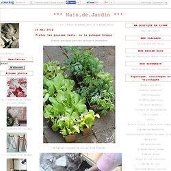 Tistou les pousses verts, ou le potager buveur - *** Nain.de.Jardin ***