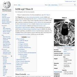 LGM-25C Titan II