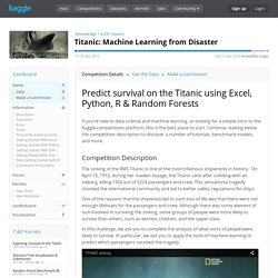 Titanic: Machine Learning from Disaster