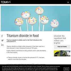 Titanium dioxide in food –TDMA