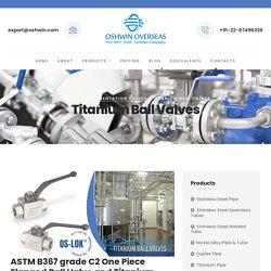 Titanium valve manufacturers