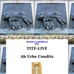Tite-Live : Ab urbe condita