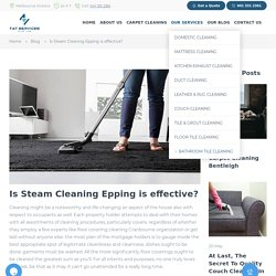 steam cleaning epping