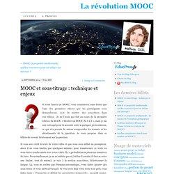 MOOC et sous-titrage : technique et enjeux