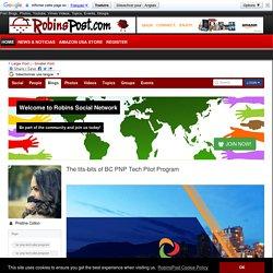 The tits-bits of BC PNP Tech Pilot Program